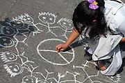 Puebla, Pue, 19 de septiembre de 2011.<br /> Caravana al Sur, 2011. Movimiento por la Paz con Justicia y Dignidad. (Foto: Prometeo Lucero)