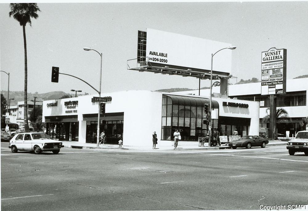 1987 Sunset Blvd. & La Brea Ave.