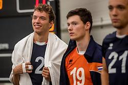 24-09-2016 NED: EK Kwalificatie Nederland - Wit Rusland, Koog aan de Zaan<br /> Nederland wint na een 2-0 achterstand in sets met 3-2 / Wessel Keemink #2, Just Dronkers #19