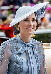 The Duchess of Cambridge on day one of Royal Ascot at Ascot Racecourse. June 18, 2019. Photo by Robin Utrecht/ABACAPRESS.COM