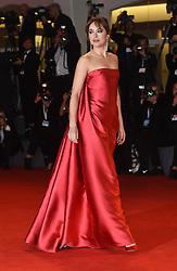 Red Carpet arrivals for the Suspira Premiere  at the Venice Film Festival 2018<br /><br />1 September 2018.<br /><br />Please byline: Vantagenews.com