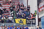 DESCRIZIONE : Campionato 2014/15 Dinamo Banco di Sardegna Sassari - Dolomiti Energia Aquila Trento Playoff Quarti di Finale Gara4<br /> GIOCATORE : Legione Bianconera<br /> CATEGORIA : Ultras Tifosi Spettatori Pubblico<br /> SQUADRA : Dolomiti Energia Aquila Trento<br /> EVENTO : LegaBasket Serie A Beko 2014/2015 Playoff Quarti di Finale Gara4<br /> GARA : Dinamo Banco di Sardegna Sassari - Dolomiti Energia Aquila Trento Gara4<br /> DATA : 24/05/2015<br /> SPORT : Pallacanestro <br /> AUTORE : Agenzia Ciamillo-Castoria/L.Canu