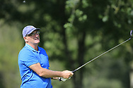 Ray McDaid (CO. Sligo) during the second round at the Connacht Mid Amateur Open, Roscommon Golf Club, Roscommon, Roscommon, Ireland. 17/08/2019.<br /> Picture Fran Caffrey / Golffile.ie<br /> <br /> All photo usage must carry mandatory copyright credit (© Golffile   Fran Caffrey)