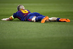April 4, 2018 - Barcelona, Catalonia, Spain - April 4, 2018 - Barcelona, Spain - Uefa Champions League Quarter final first leg, FC Barcelona v AS Roma: Andre Gomes of FC Barcelona in to the pitch. (Credit Image: © Marc Dominguez via ZUMA Wire)