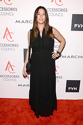 Designer Rebecca Minkoff attends the Accessories Council's 21st Annual celebration of the ACE awards at Cipriani 42nd Street in New York, NY, on August 7, 2017. (Photo by Anthony Behar) *** Please Use Credit from Credit Field ***