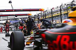 September 15, 2017 - Singapore, Singapore - Motorsports: FIA Formula One World Championship 2017, Grand Prix of Singapore, ..#33 Max Verstappen (NLD, Red Bull Racing) (Credit Image: © Hoch Zwei via ZUMA Wire)