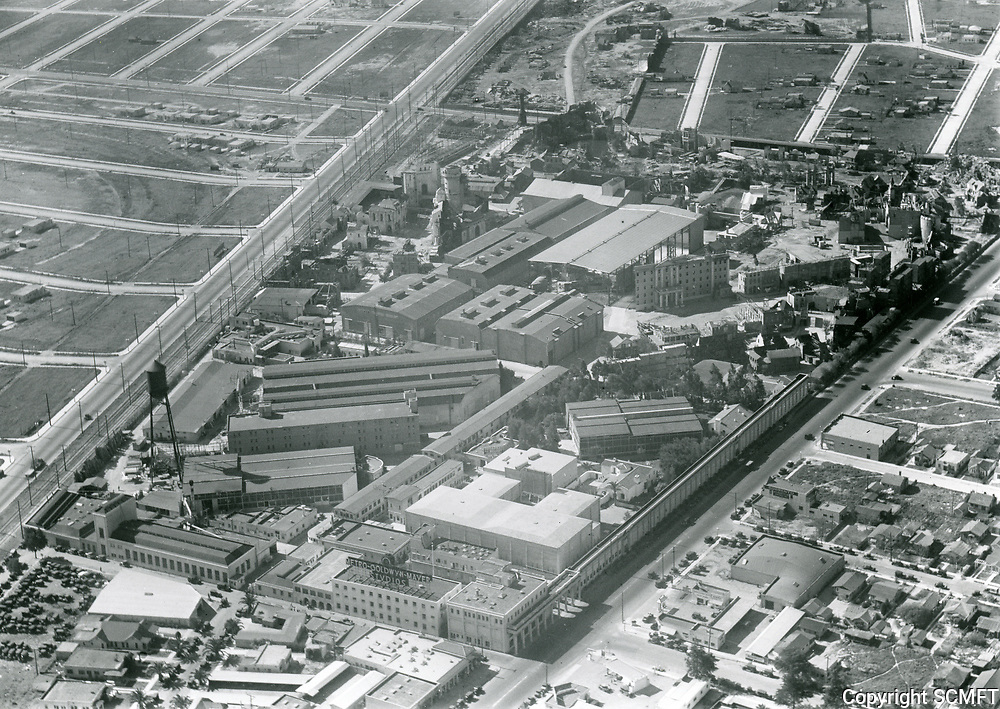 1929 Aerial of MGM Studios