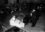 27/3/1966<br /> 3/27/1966<br /> 27 March 1966<br /> <br /> Teams competing for the Gold Flake Trophy at the Civil Defence Competition for the Gold Flake Trophy at the Mansion House