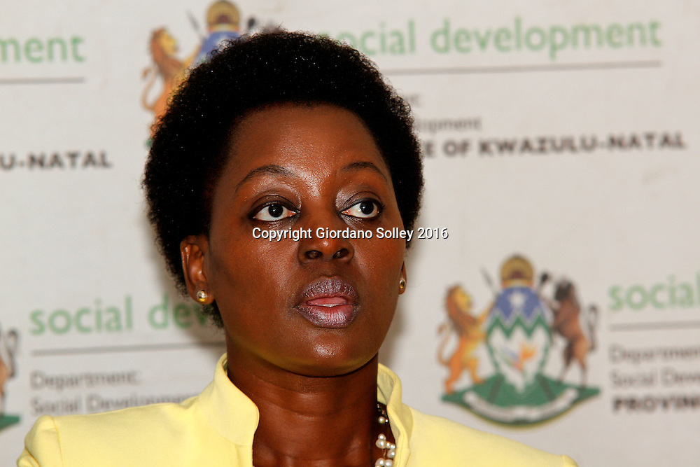 DURBAN - 15 March 2016 - Nokuthula Khanyile, the head of the KwaZulu-Natal Social Development department briefs the media on R19 million fraud at one of the department's offices near Empangeni.  Picture: Allied Picture Press/APP