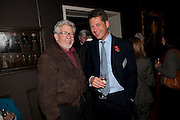 ROLF HARRIS; JOHN HANNAFORD, Fight For Sight evening reception. Philip Mould Gallery. Dover st. London. 3 November 2009
