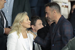 September 18, 2019, Paris, Ile de France, France: Youri Djorkaeff, Nathalie Boy de la Tour (Credit Image: © Panoramic via ZUMA Press)