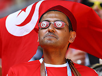 tunisia supporter<br /> Moscow 23-06-2018 Football FIFA World Cup Russia  2018 <br /> Belgium - Tunisia / Belgio - Tunisia <br /> Foto Matteo Ciambelli/Insidefoto