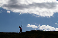 Jason Day of Australia makes his approach shot on the 11th hole during the final round of the 92nd PGA Championship at Whistling Straits in Kohler, Wisconsin on August 15, 2010. (UPI)
