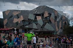 SBS Building, Federation Square, Melbourne, Victoria, Australia