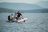 Winni Skiathon from Winnipesaukee Yacht Club Saturday, July 20, 2013.  Karen Bobotas Photographer