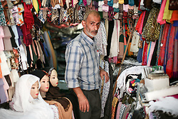 A market stall holder in the old city of Jerusalem. From a series of photos commissioned by  British NGO, Medical Aid for Palestinians (MAP).