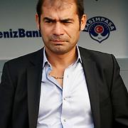 Kasimpasa's head coach Metin Diyadin during their Turkish superleague soccer match Kasimpasa between Gaziantepspor at the Recep Tayyip Erdogan stadium in Istanbul Turkey on Saturday 15 September 2012. Photo by TURKPIX
