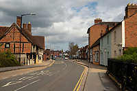 empty streets in stratford upon avon 04/04/20 photo by Mark Anton Smith