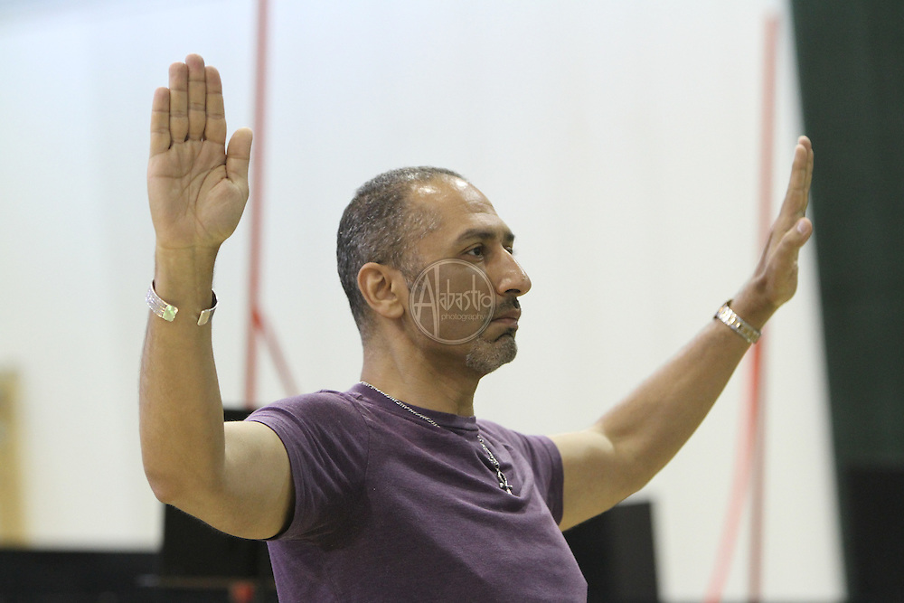 Turandot Staging #1, Seattle Opera, July 11, 2012. Ashraf Sewailam (Mandarin).