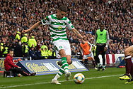 Kristoffer Ajer of Celtic during the William Hill Scottish Cup Final match between Heart of Midlothian and Celtic at Hampden Park, Glasgow, United Kingdom on 25 May 2019.