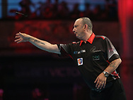 Darren Webster during the BetVictor World Matchplay at Winter Gardens, Blackpool, United Kingdom on 22 July 2018. Picture by Chris Sargeant.