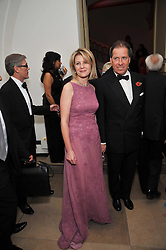 VISCOUNT & VISCOUNTESS LINLEY at the Royal Rajasthan Gala 2009 benefiting the Indian Head Injury Foundation held at The Banqueting House, Whitehall, London on 9th November 2009.