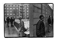 Shepherd's Bush, Queen's Park Rangers stadium, London, 1982. South-East London, 1982