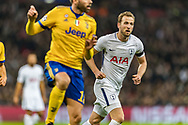 Tottenham Hotspur forward Harry Kane during the Champions League match between Tottenham Hotspur and Juventus FC at Wembley Stadium, London, England on 7 March 2018. Picture by Toyin Oshodi.