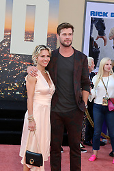 July 22, 2019 - Los Angeles, CA, USA - LOS ANGELES - JUL 22:  Elsa Pataky, Chris Hemsworth at the ''Once Upon a Time in Hollywood'' Premiere at the TCL Chinese Theater IMAX on July 22, 2019 in Los Angeles, CA (Credit Image: © Kay Blake/ZUMA Wire)
