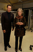 Will Travers and his mother Virginia Mckenna. Cocktail party celebrating Born Free Foundation 21 years anniversary.  Royal Geographical Society, Kensington Gore. 14 march 2005. ONE TIME USE ONLY - DO NOT ARCHIVE  © Copyright Photograph by Dafydd Jones 66 Stockwell Park Rd. London SW9 0DA Tel 020 7733 0108 www.dafjones.com