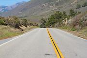 Open Road along the Central Coast of California