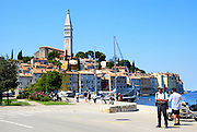 the Harbour Rovinj (Rovigno) is a city in Croatia situated on the north Adriatic Sea