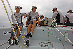 2008 Monsoon Cup. Onboard with Torvar Mirsky and crew practicing on the training day (Tuesday 2nd December 2008).