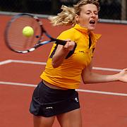 Finale eredivisie playoffs 2004 tennis Hilverheide - De Manege, Martina Sucha