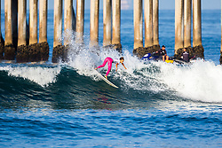 Tia Blanco (PRI) placed third in the 2018 Women's VANS US Open of Surfing trials at Huntington Beach, California, USA.