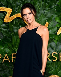 Victoria Beckham attending the Fashion Awards in association with Swarovski held at the Royal Albert Hall, Kensington Gore, London.