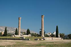 Temple of Zeus Ruins, Athens, Greece