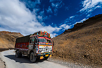 Leh-Manali Highway, Himachal Pradesh, India.