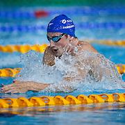Swimming. Men's 200m Breaststroke 2nd place Michael Jamieson Scotland.