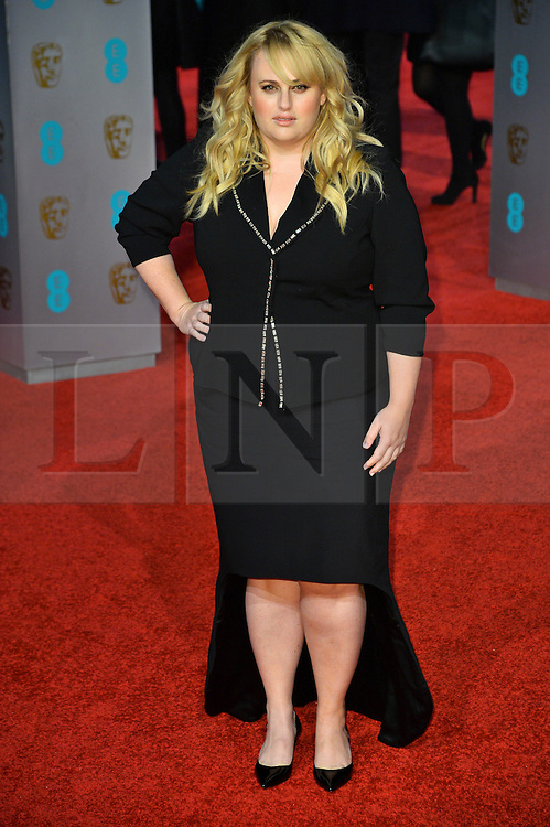 © Licensed to London News Pictures. 14/02/2016.  London, UK. SACHA REBEL WILSON arrives on the red carpet at the EE British Academy Film Awards 2016  Photo credit: Ray Tang/LNP