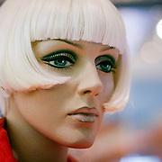 Strange mannequin face, Liverpool, England (January 2008)