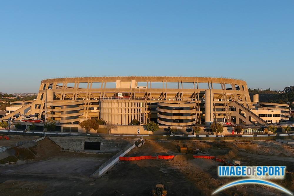 A general view of SDCCU Stadium, Saturday, Sept. 19, 2020, in San Diego, Calif.