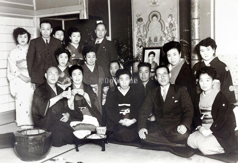 memorial gathering for deceased person Japan