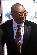June 30, 2012-Los Angeles, CA : Director Spike Lee attends the 2012 BET Awards held at the Shrine Auditorium on July 1, 2012 in Los Angeles. The BET Awards were established in 2001 by the Black Entertainment Television network to celebrate African Americans and other minorities in music, acting, sports, and other fields of entertainment over the past year. The awards are presented annually, and they are broadcast live on BET. (Photo by Terrence Jennings)