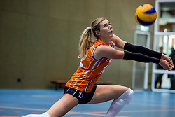 10-05-2018 NED: Training Dutch volleyball team women, Arnhem<br /> Britt Bongaerts #12 of Netherlands