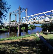 Hinton Brige over the Paterson River near Maitland, Lower Hunter Valley, NSW, Australia