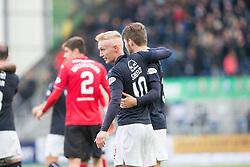Falkirk's Craig Sibbald at the end. Falkirk 2 v 1 Dunfermline, Scottish Championship game played 15/10/2016, at The Falkirk Stadium.