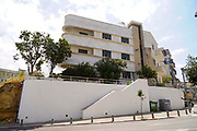 Bauhaus Architecture in Tel Aviv White City. at Rosh Pina corner of Ayelet Ha-Shakhar The White City refers to a collection of over 4,000 buildings built in the Bauhaus or International Style in Tel Aviv from the 1930s by German Jewish architects who emigrated to the British Mandate of Palestine after the rise of the Nazis. Tel Aviv has the largest number of buildings in the Bauhaus/International Style of any city in the world. Preservation, documentation, and exhibitions have brought attention to Tel Aviv's collection of 1930s architecture.
