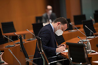 DEU, Deutschland, Germany, Berlin, 30.06.2021: Bundesgesundheitsminister Jens Spahn (CDU) vor Beginn der 148. Kabinettsitzung im Bundeskanzleramt.