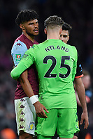 Football - 2020 EFL Carabao (League) Cup Final - Aston Villa vs. Manchester City<br /> <br /> Aston Villa's Tyrone Mings with Orjan Nyland at the final whistle, at Wembley Stadium.<br /> <br /> COLORSPORT/ASHLEY WESTERN